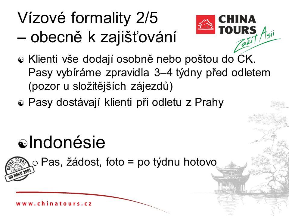 Vízové formality 2/5 – obecně k zajišťování