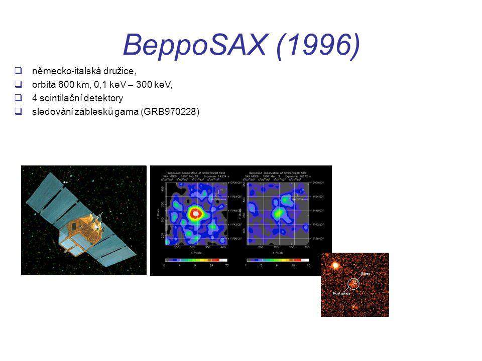 BeppoSAX (1996) německo-italská družice,