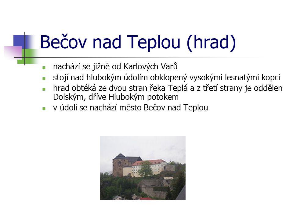 Bečov nad Teplou (hrad)