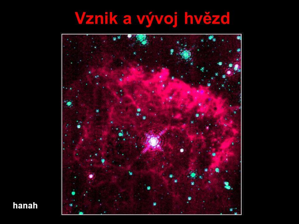Vznik a vývoj hvězd hanah