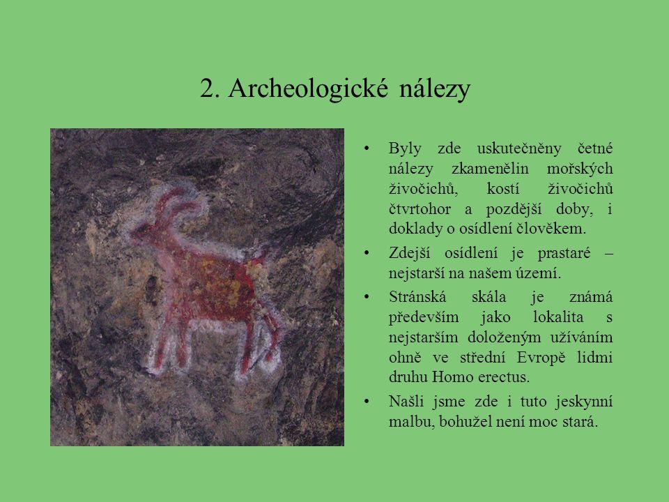 2. Archeologické nálezy