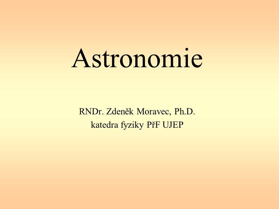 RNDr. Zdeněk Moravec, Ph.D. katedra fyziky PřF UJEP