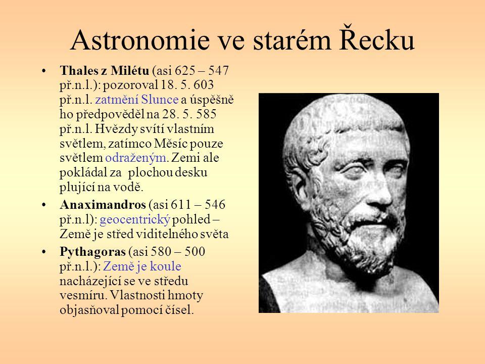 Astronomie ve starém Řecku