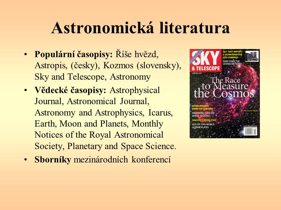 Astronomická literatura