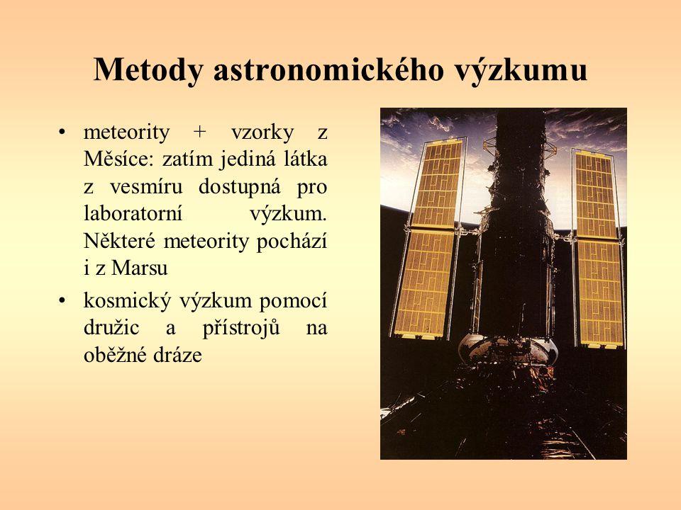 Metody astronomického výzkumu