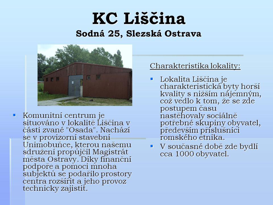KC Liščina Sodná 25, Slezská Ostrava