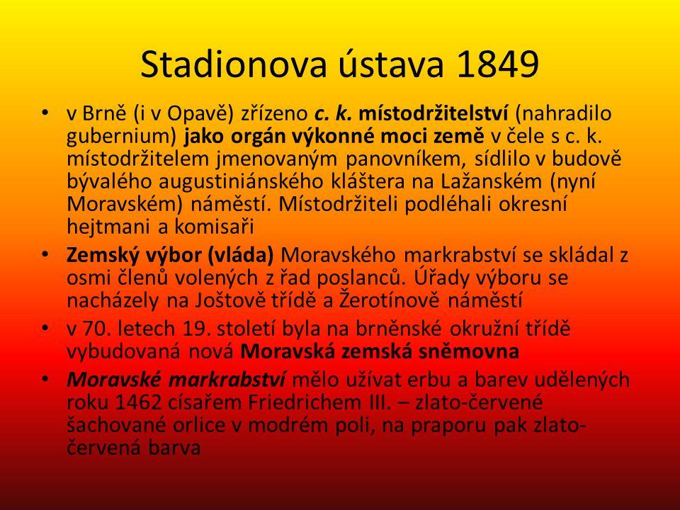 Stadionova ústava 1849