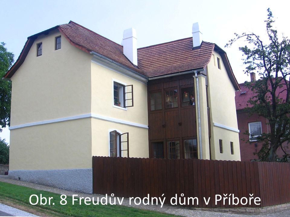 Obr. 8 Freudův rodný dům v Příboře