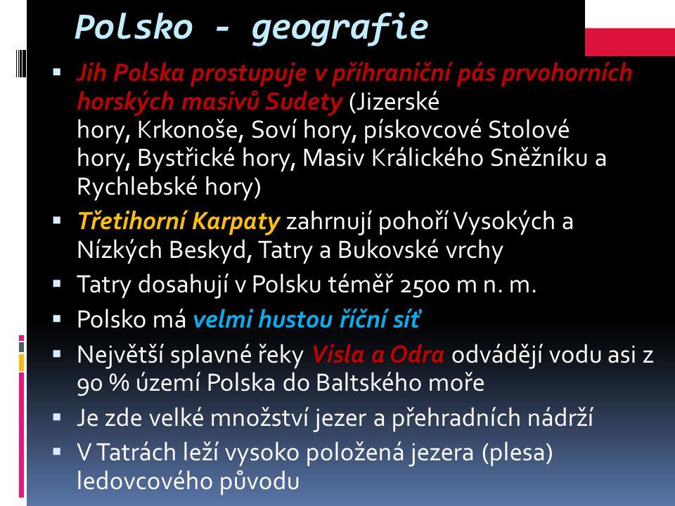 Polsko - geografie