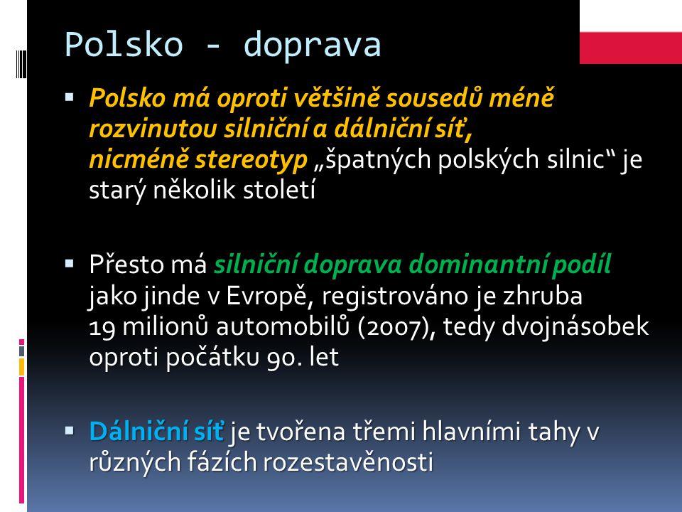 Polsko - doprava