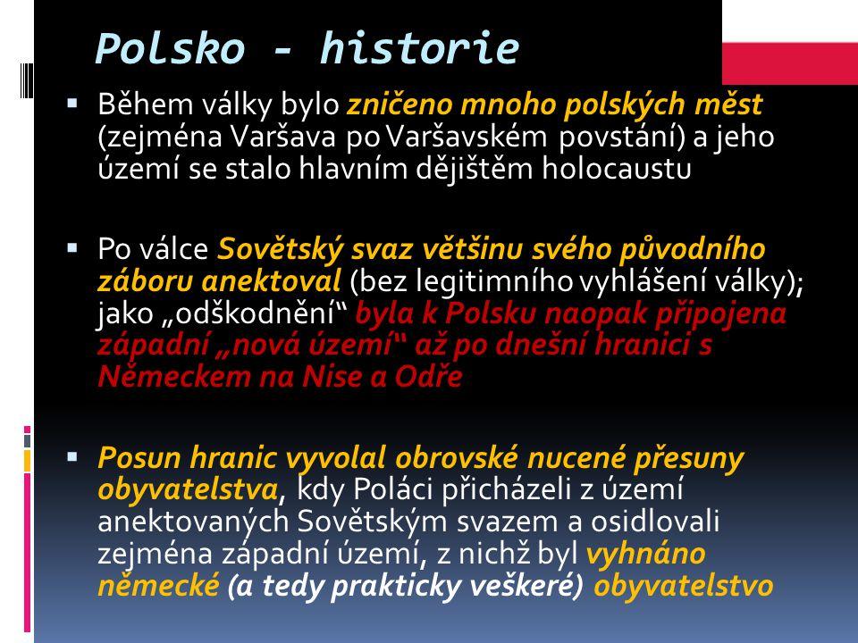 Polsko - historie