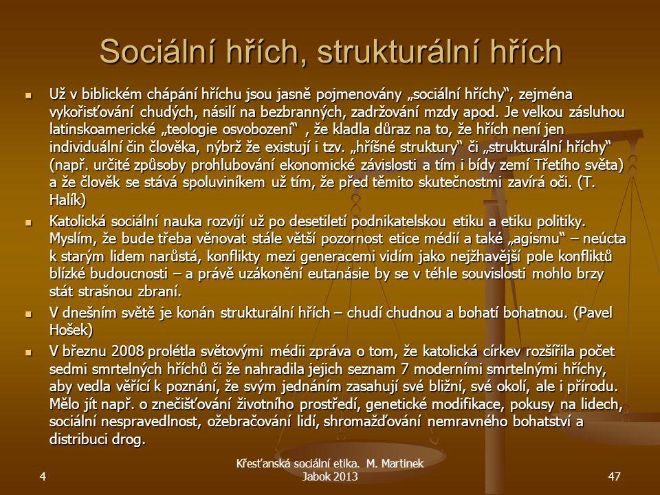 Sociální hřích, strukturální hřích