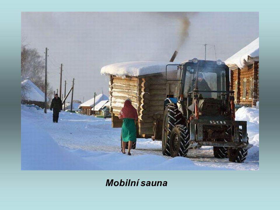 Mobilní sauna