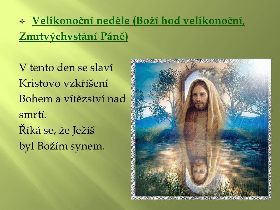 Velikonoční neděle (Boží hod velikonoční,