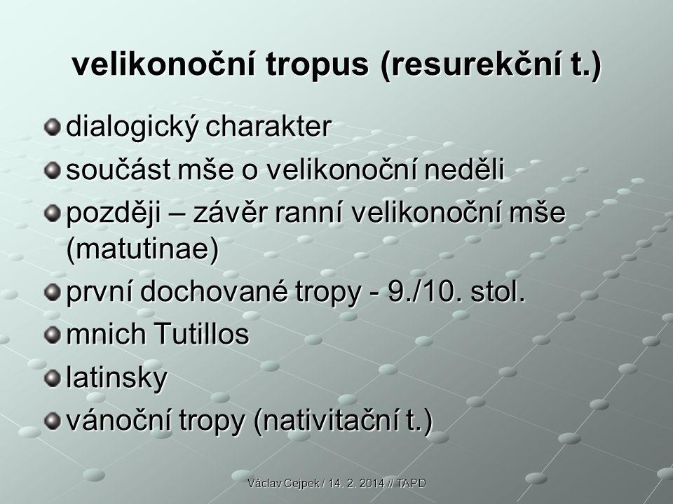 velikonoční tropus (resurekční t.)