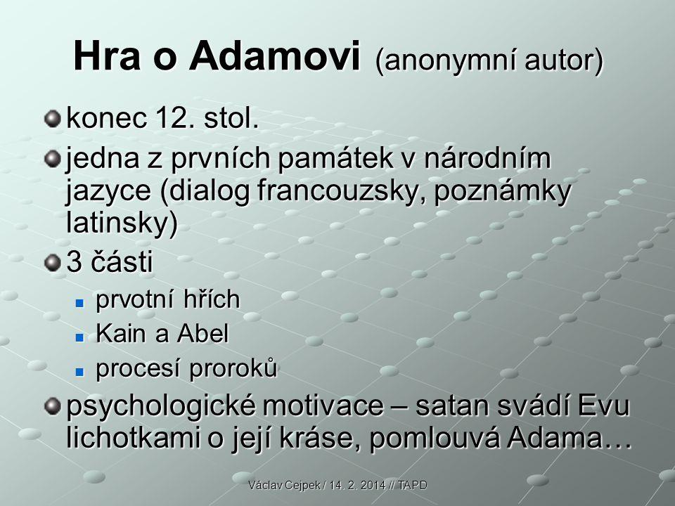 Hra o Adamovi (anonymní autor)