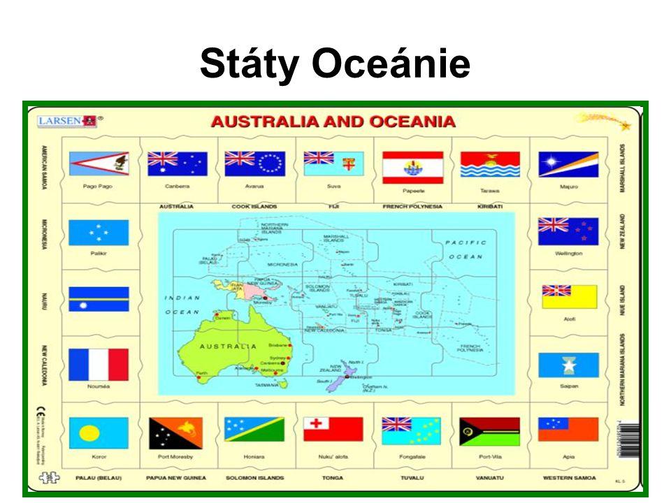 Státy Oceánie