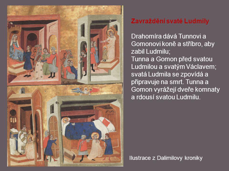 Zavraždění svaté Ludmily