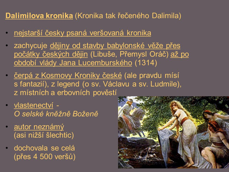 Dalimilova kronika (Kronika tak řečeného Dalimila)