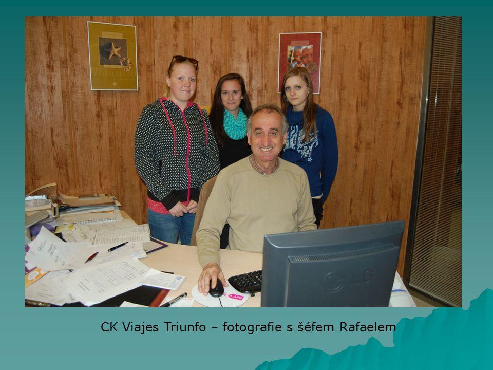 CK Viajes Triunfo – fotografie s šéfem Rafaelem