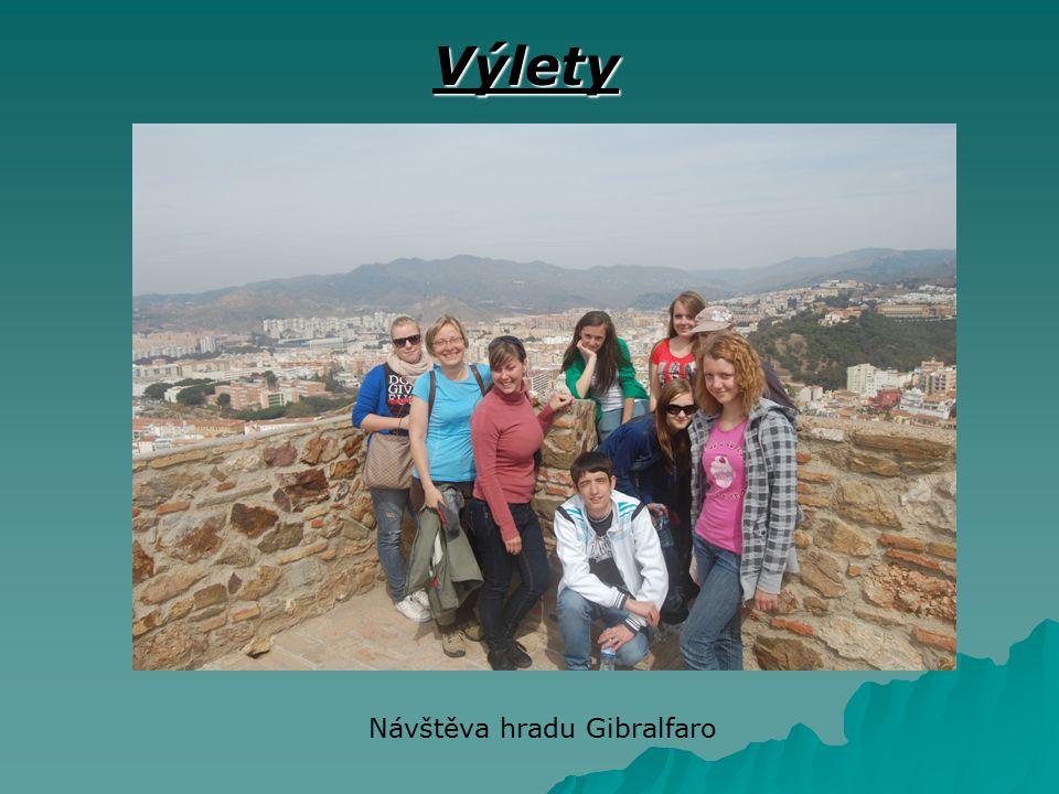 Návštěva hradu Gibralfaro