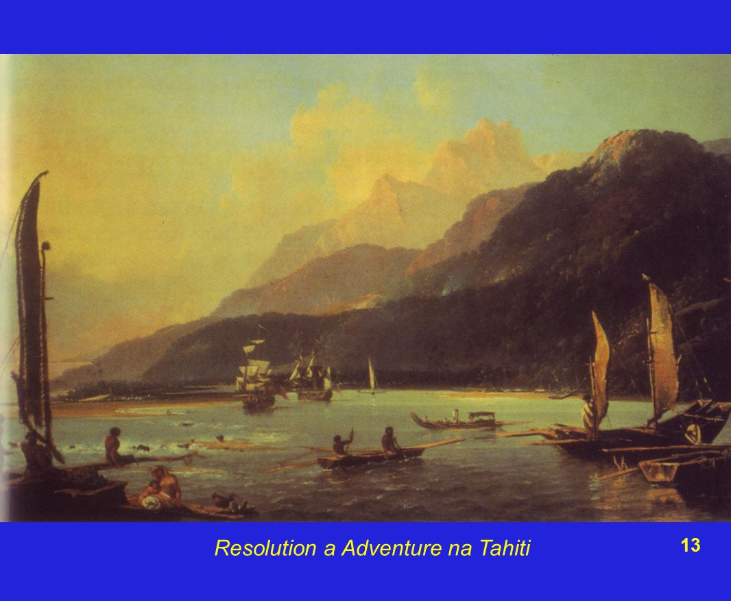 Resolution a Adventure na Tahiti