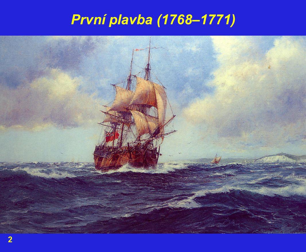 První plavba (1768–1771) 2