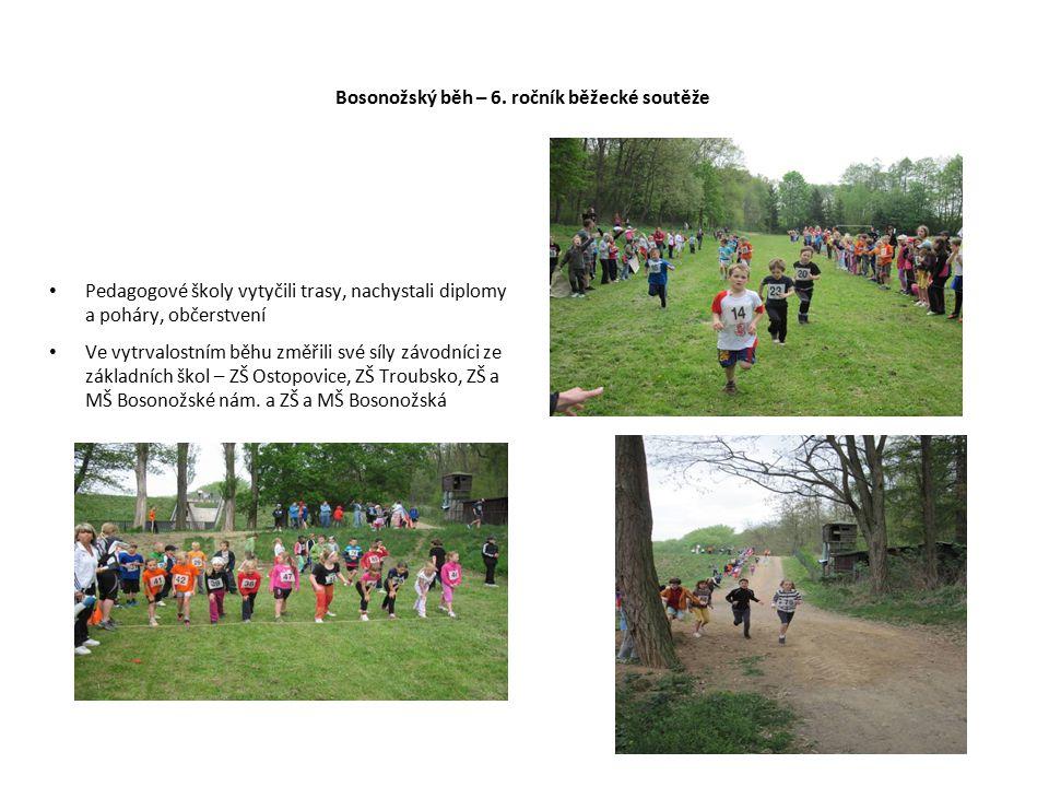 Bosonožský běh – 6. ročník běžecké soutěže