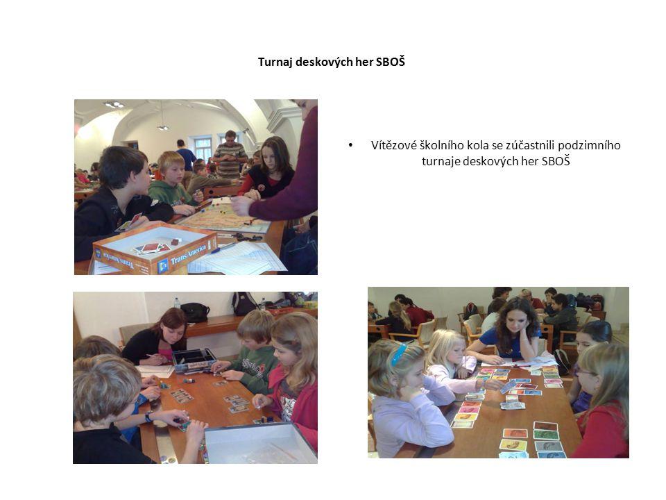 Turnaj deskových her SBOŠ