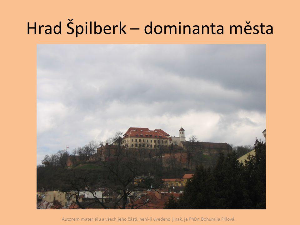Hrad Špilberk – dominanta města