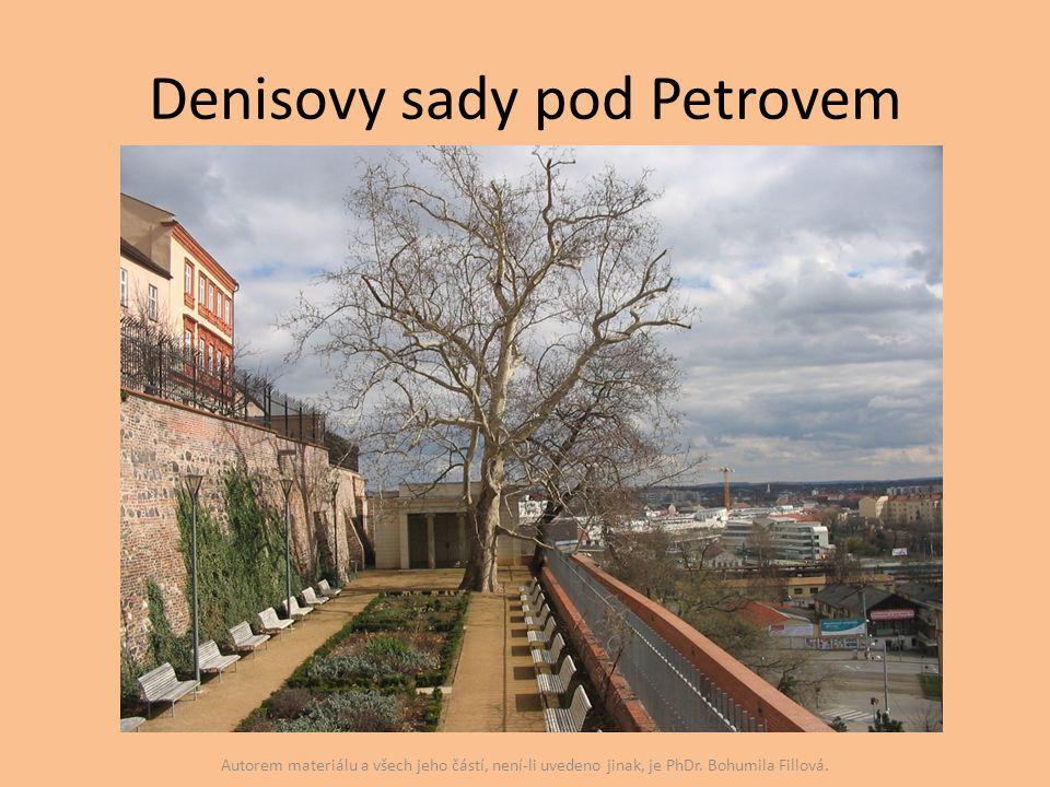 Denisovy sady pod Petrovem