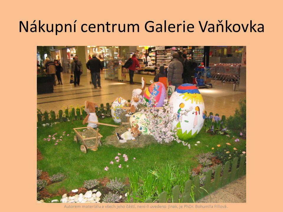 Nákupní centrum Galerie Vaňkovka