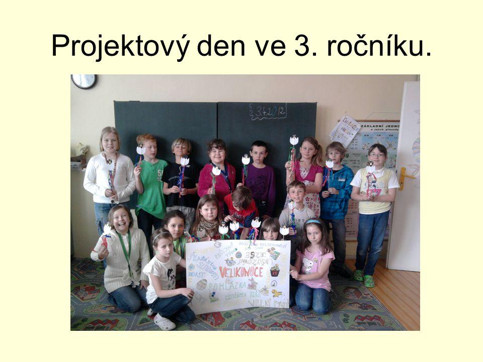 Projektový den ve 3. ročníku.