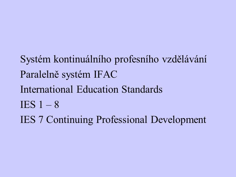 Systém kontinuálního profesního vzdělávání