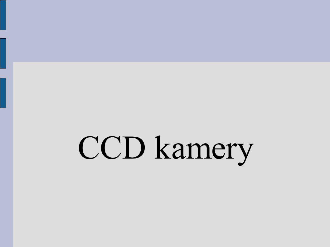 CCD kamery