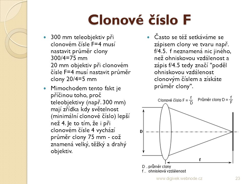 Clonové číslo F