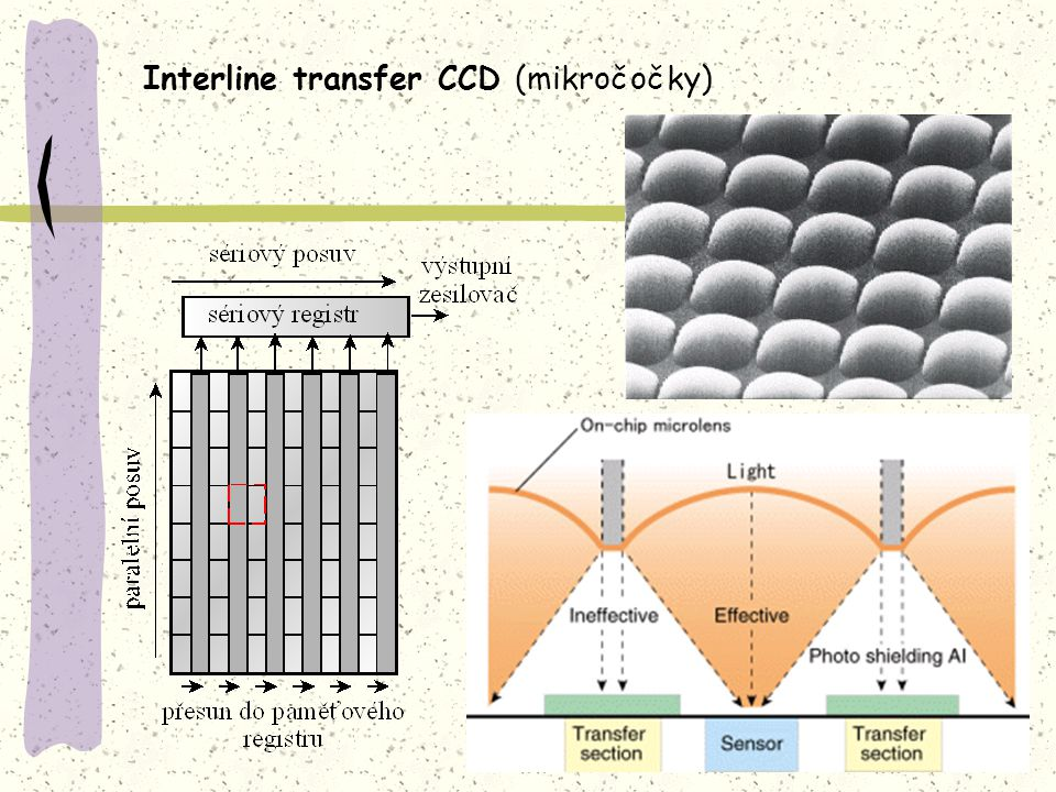 Interline transfer CCD (mikročočky)