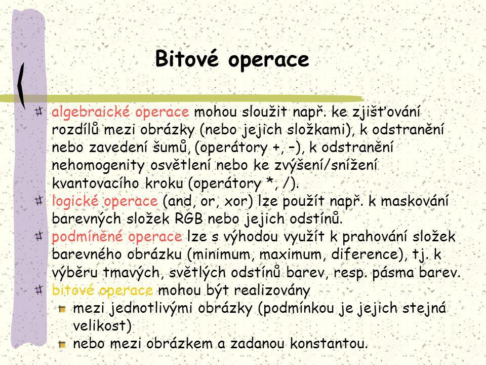 Bitové operace
