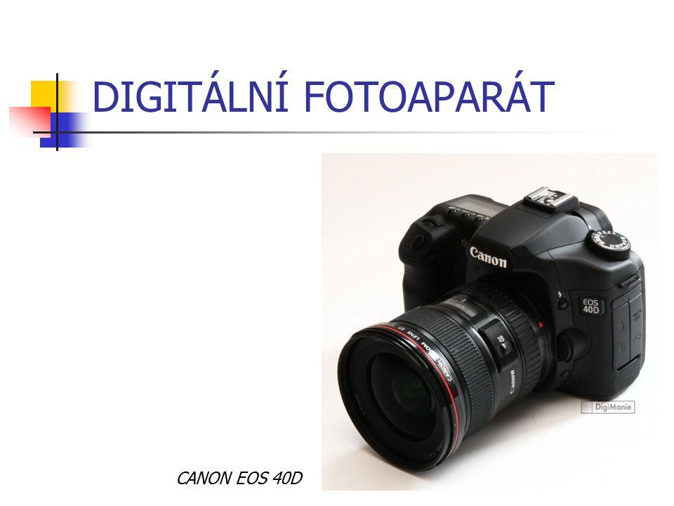DIGITÁLNÍ FOTOAPARÁT CANON EOS 40D