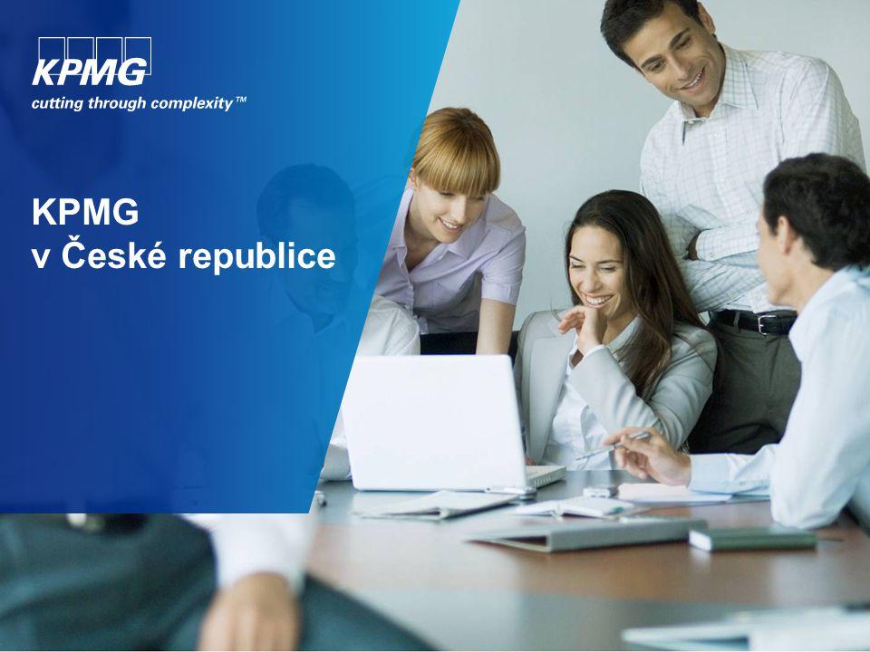 Seznámení se s KPMG KPMG je celosvětová síť poradenských společností poskytujících služby v oblasti auditu, daní a poradenství.