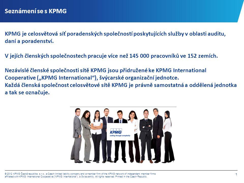 Seznámení se s KPMG