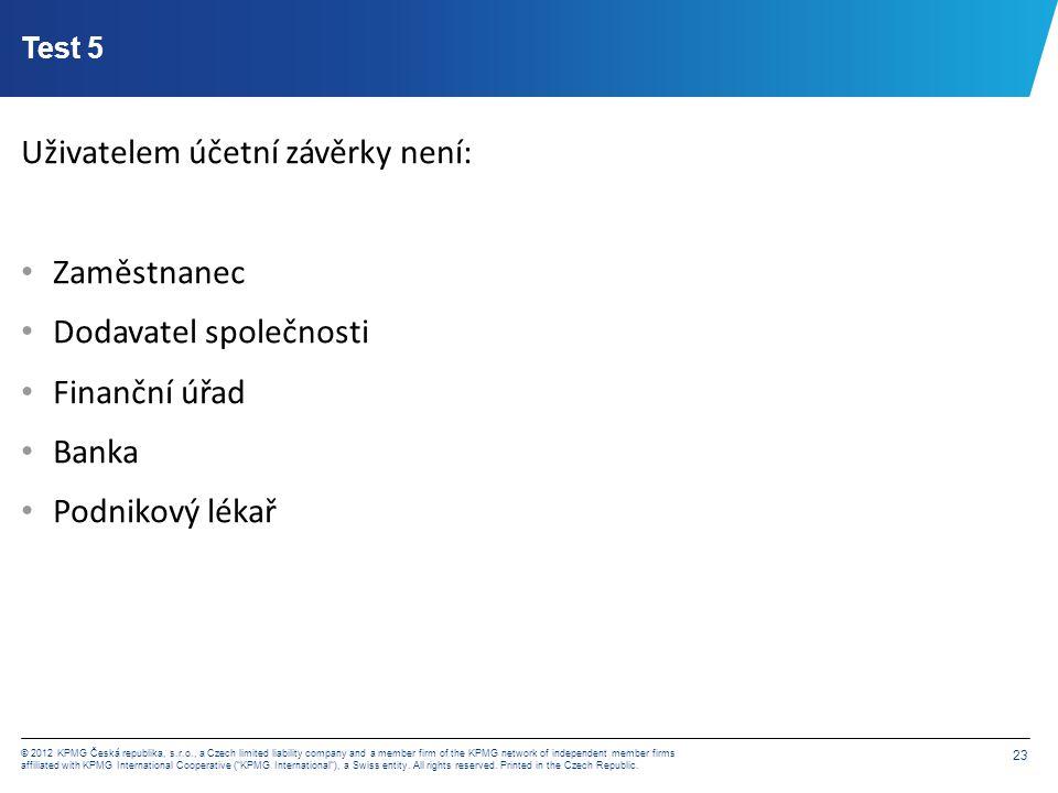 Děkuji za pozornost Štěpán Kmoch Manager, Audit