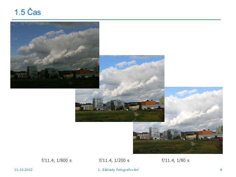 1. Základy fotografování
