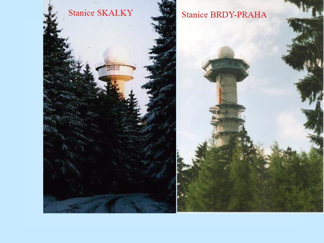 Stanice SKALKY Stanice BRDY-PRAHA