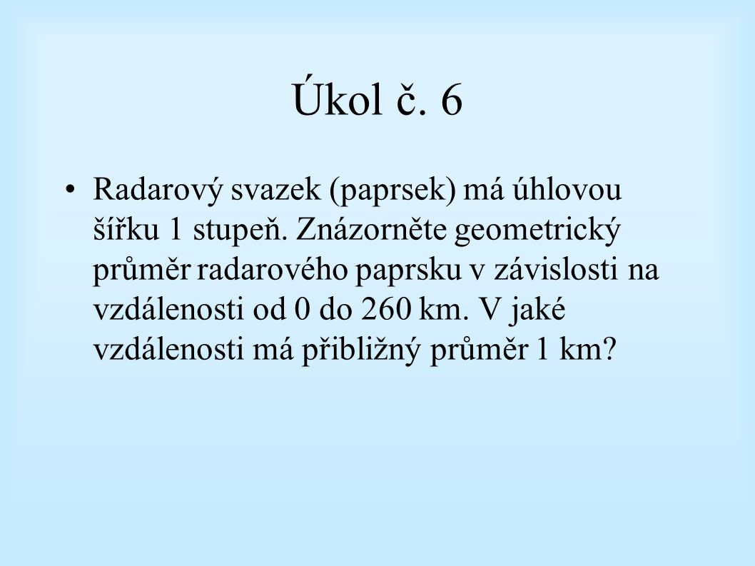 Úkol č. 6