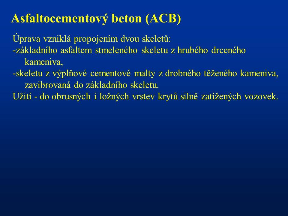 Asfaltocementový beton (ACB)