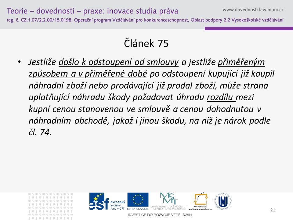 Článek 75