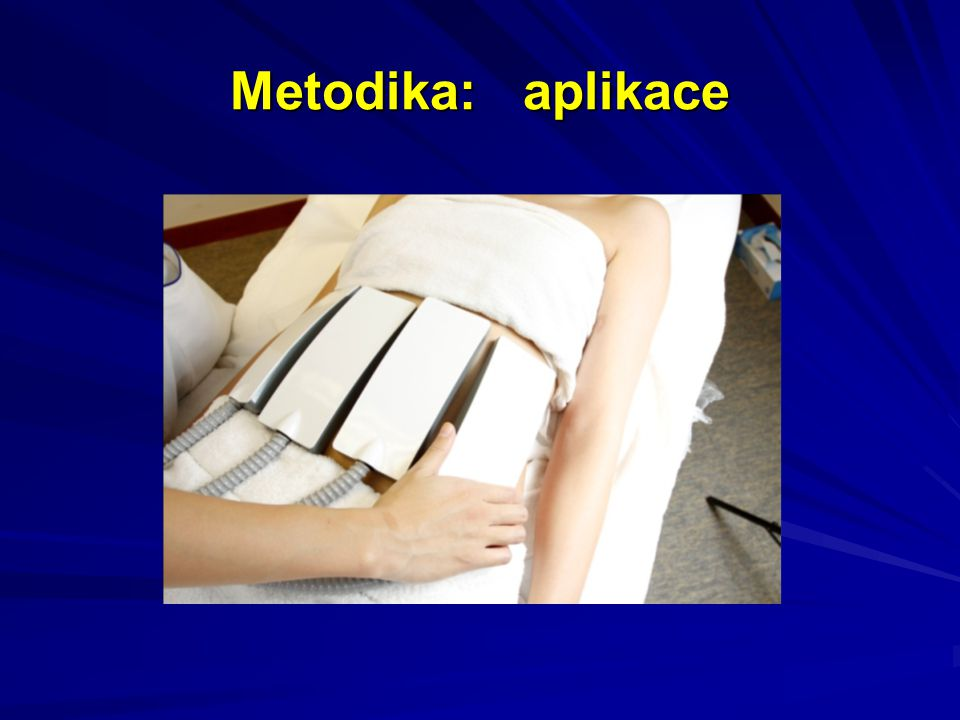 Metodika: aplikace