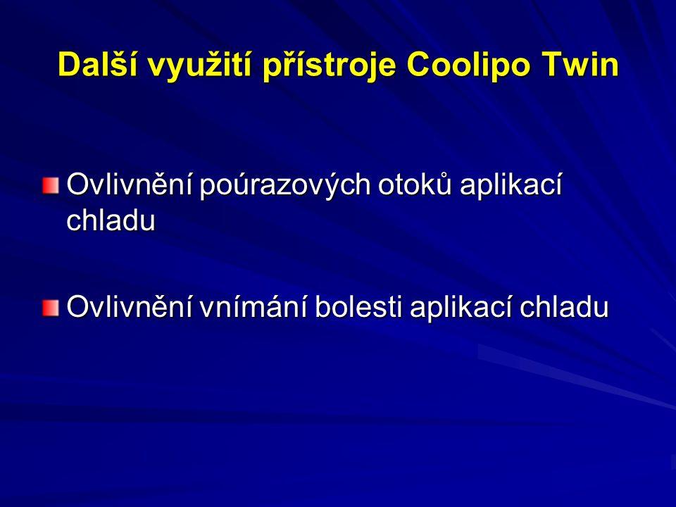 Další využití přístroje Coolipo Twin