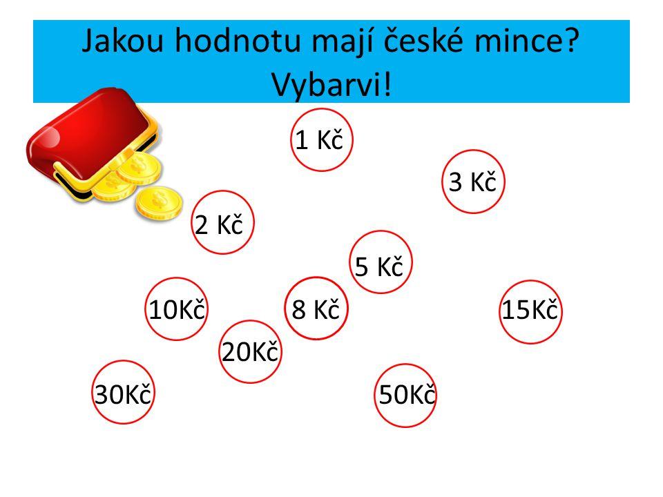 Jakou hodnotu mají české mince Vybarvi!